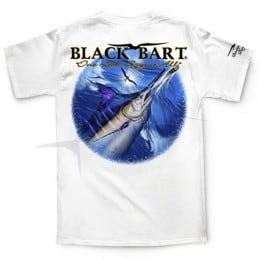 T-Shirt Black Bart One Look Says It All
