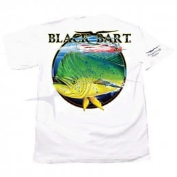 T-Shirt Black Bart Dolphin