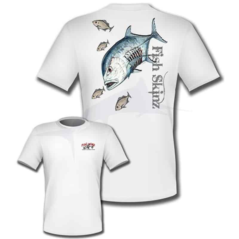 T-Shirt Fish Skinz Performance Jacked Ulua