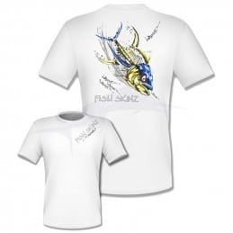 T-Shirt Fish Skinz Performance Rude Tuna