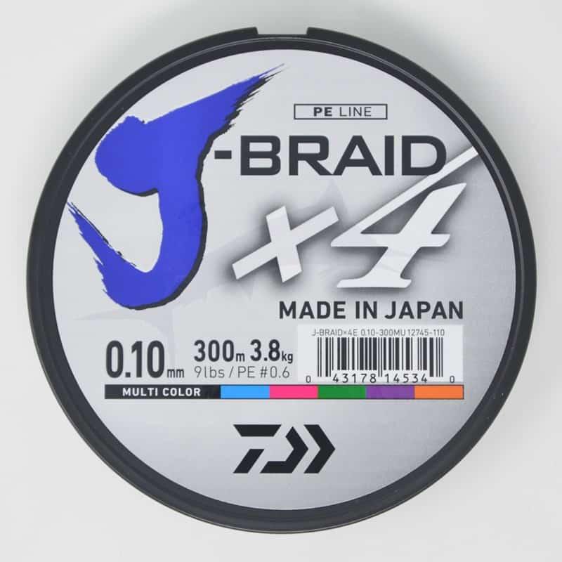 Daiwa Tresse J-Braid X 4 (300m)