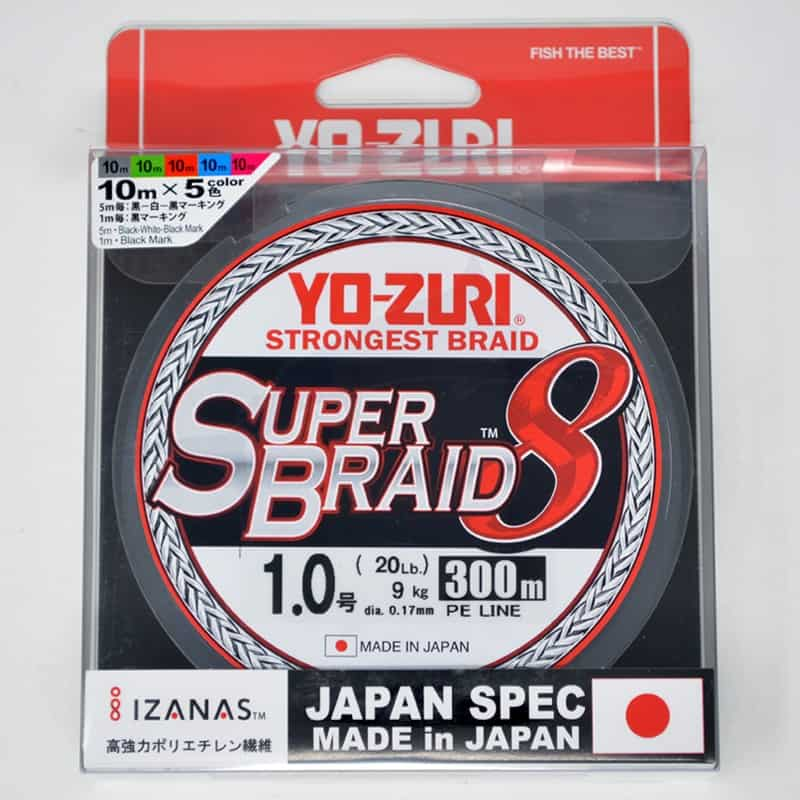 Yo-Zuri Tresse Superbraid 8x