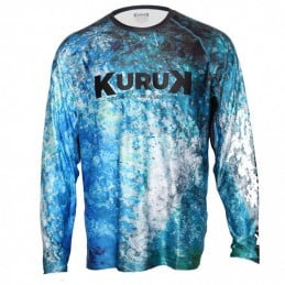 L-Shirt Kuruk Expedition 40 Blue GT