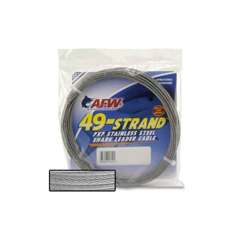 Cable acier AFW 9m (90, 175, 275 ou 600 lbs)