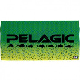 Pelagic Green Dorado Logo Towel