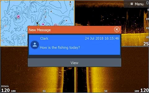 Notifications de smartphone intégrées à HDS LIVE